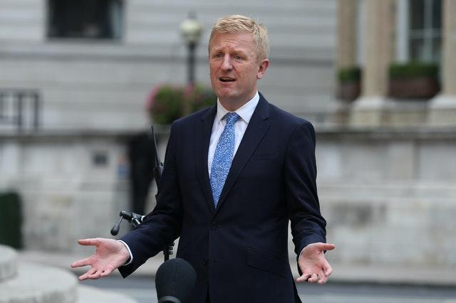Oliver Dowden (pictured) and Nigel Huddleston are adamant that the Premier League must be responsible for supporting the EFL
