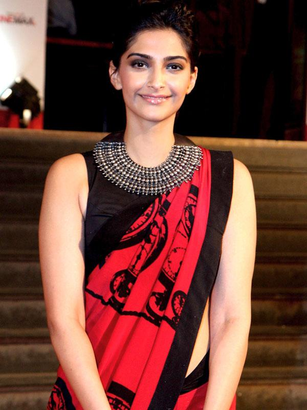<b>SONAM KAPOOR </b><br><br>Drink loads of water: What you eat is bound to show on your skin, so I'm extremely careful about what goes into my mouth. It's important to stay healthy from within as what you eat reflects on the outside. Hence a balanced diet and exercise are important. I start my day with warm water, lemon and honey. Apart from that, I have loads of water throughout the day. This helps to flush out toxins from the system and make my skin glow with health. I never skip the sunscreen: I apply it 20 minutes before stepping out. Plus, I make sure to remove every speck of make-up and moisturise well before retiring for the night.