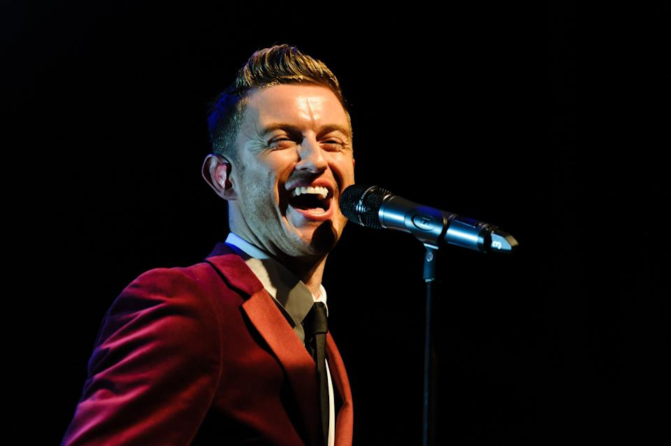<strong>Timmy Matley</strong><br /><strong>Singer with The Ovetones <i>(b. 1982)<br /><br /></i></strong>Timmy, who usually took lead vocals in The Overtones, joined the band in 2010.<strong><i><br /></i></strong>