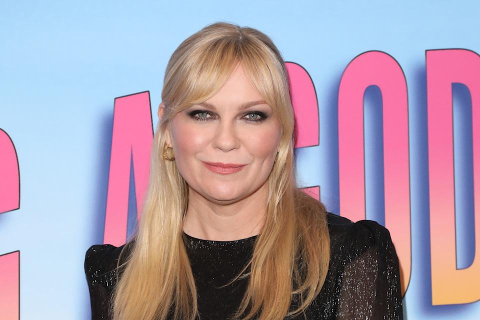 """Kirsten Dunst attends the screening of Showtime's """"Becoming A God In Central Florida"""" on August 20, 2019. (Photo by Paul Archuleta/FilmMagic)"""