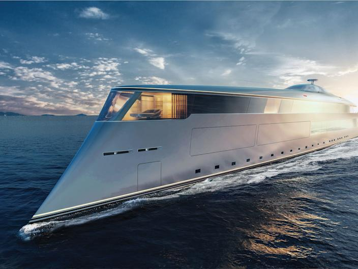 Sinot AQUA_EXTERIOR BOW SIDE VIEW