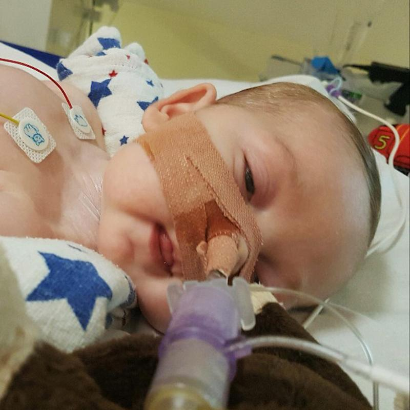 Charlie Gard whose doctors want to switch off life support treatment
