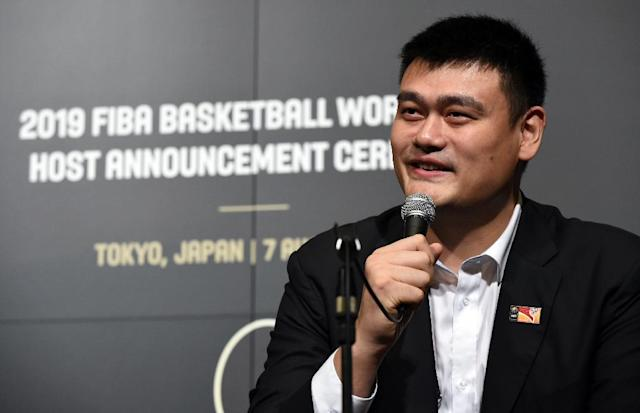 Chinese basketball star Yao Ming was forced to retire in 2011 after severe foot injuries (AFP Photo/Toshifumi Kitamura)