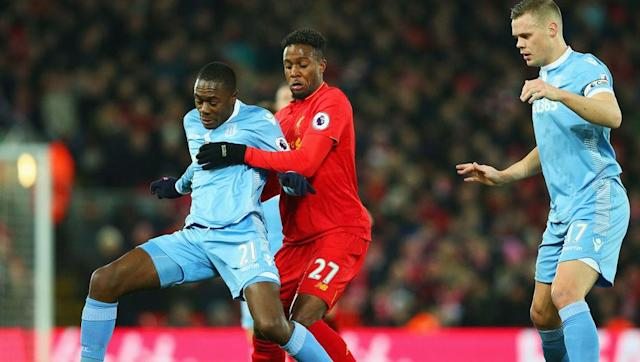 <p>Although being one of the more expensive 'cheap' buys, Stoke City's Giannelli Imbula is a superb way to bolster your midfield. </p> <br><p>Standing at over six foot, he can easily prevent your opponent playing the long ball as well as being a strong target man for set pieces. </p> <br><p>Having decent passing, dribbling and ball control stats he can easily play the ball about. </p> <br><p>Costing just over 1,000 coins he is more than the others, but his price has dropped on occasion.</p>