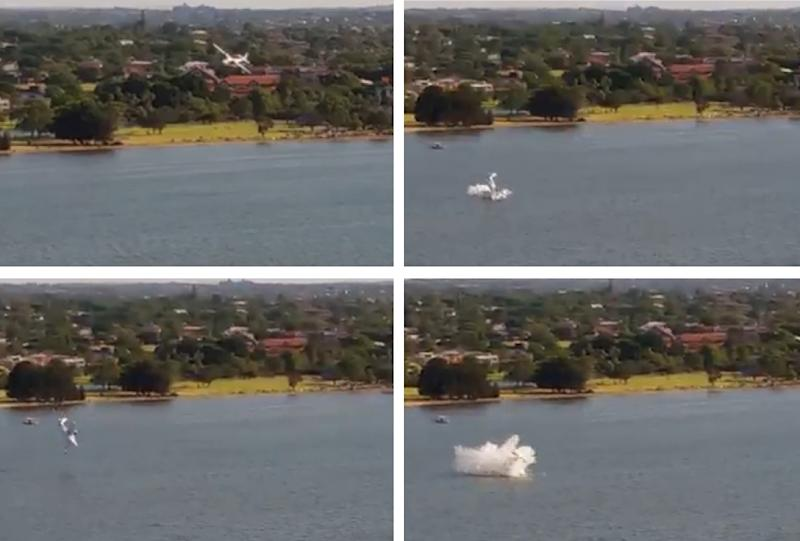 Two dead after plane crashes into Perth river