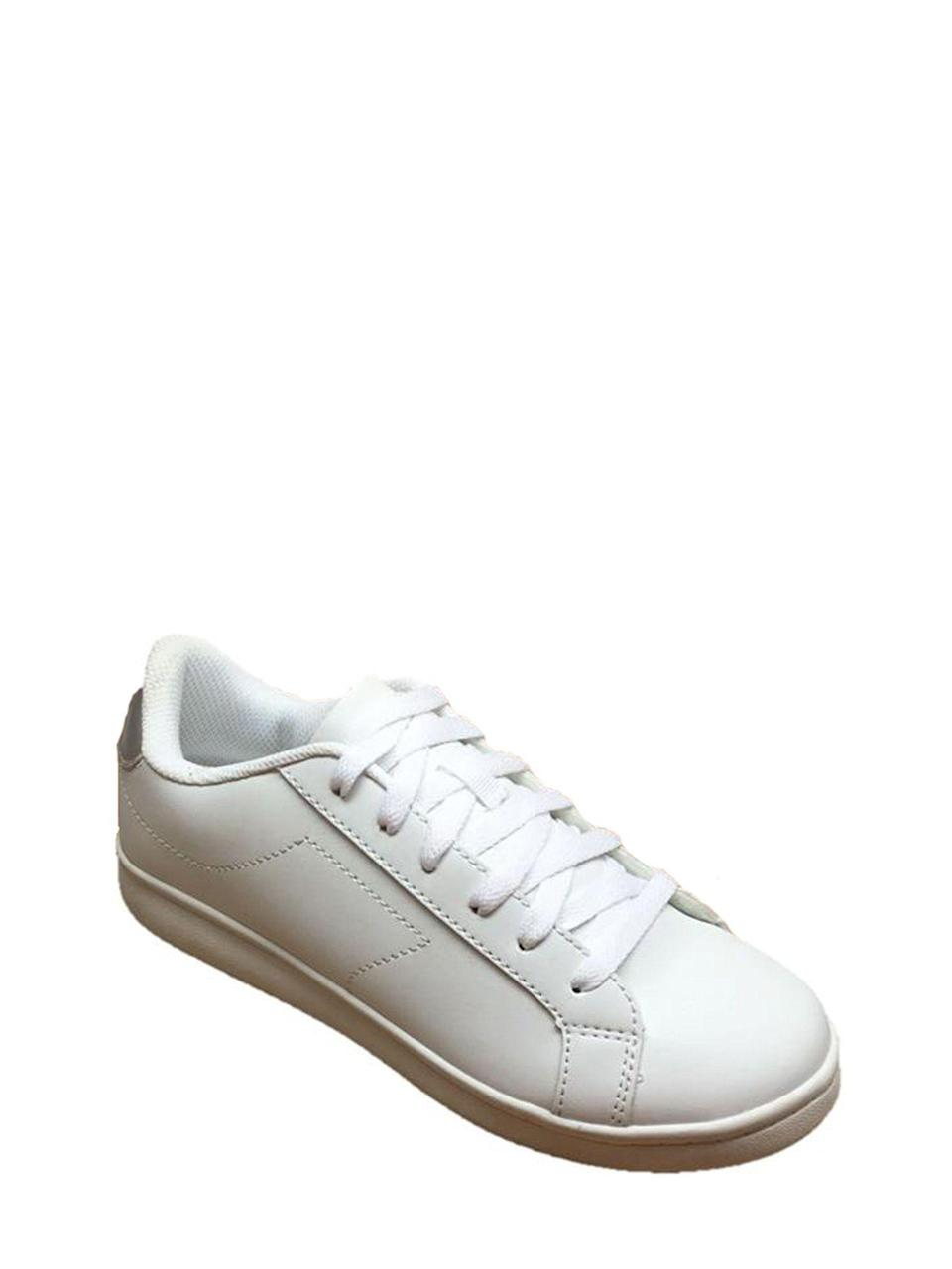 "<h3>White Tennis Sneakers</h3><p>For fans of the minimal downtown look, this very reasonably priced low-top sneaker offers all of the benefits of an edgy luxury shoe, without the high price tag.</p><br><br><strong>Time and Tru</strong> Court Shoe, $12.88, available at <a href=""https://www.walmart.com/ip/Time-and-Tru-Women-s-Court-Shoe/916149341"" rel=""nofollow noopener"" target=""_blank"" data-ylk=""slk:Walmart"" class=""link rapid-noclick-resp"">Walmart</a>"