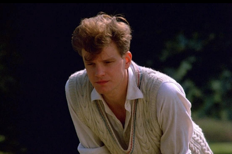<p>Firth's first film was about the a period piece (surprise, surprise) about the life of a notorious Cambridge spy.</p>