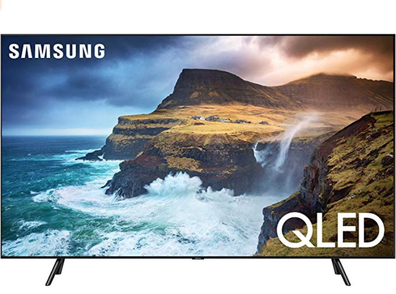 Samsung Flat 65-Inch QLED 4K Q70 Series Ultra HD Smart TV