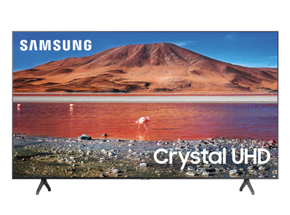 "Samsung UN75TU7000 75"" Crystal 4K UHD Smart TV - The Source, $1,300 (originally $1,500)."