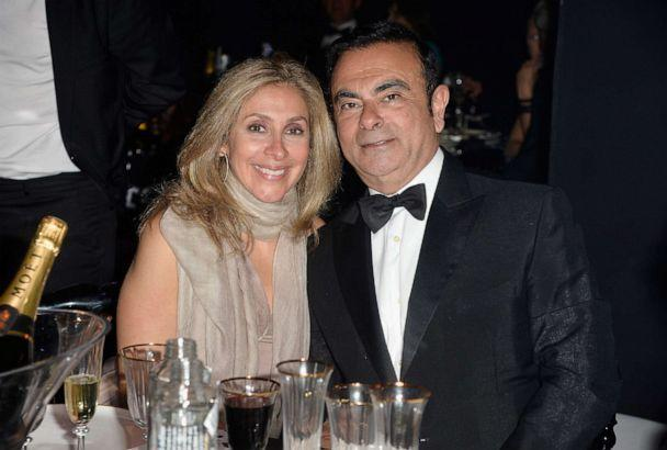 PHOTO: CEO of Renault and Nissan Carlos Ghosn (R) and his wife Carole Ghosn attend amfAR's 22nd Cinema Against AIDS Gala, May 21, 2015, in Cap d'Antibes, France. (Pascal Le Segretain/amfar15/WireImage/Getty Images)