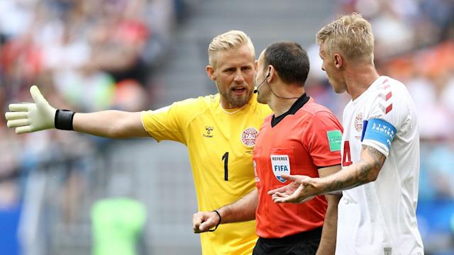 The goalkeeper was angry at the impact that the Video Assistant Referee had when they awarded a penalty against his side