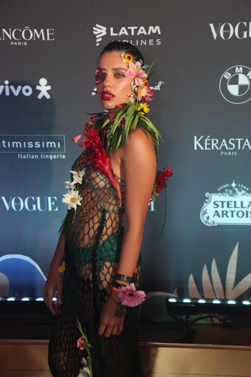 Bruna Linzmeyer no Baile da Vogue. Foto: Paulo Tauil/Brazil News