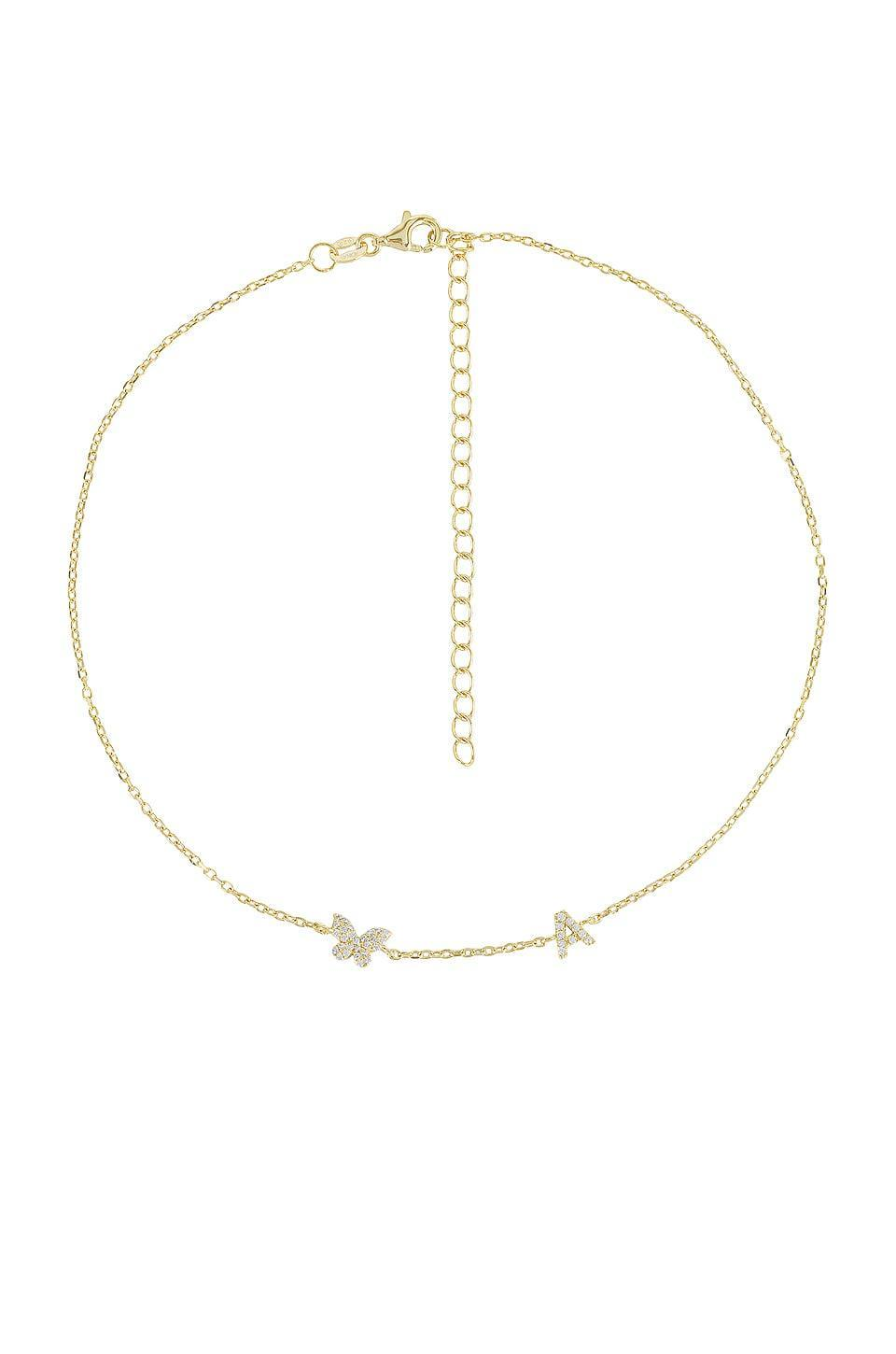 <p>How pretty is this <span>Adina's Jewels Pave Butterfly Initial Choker</span> ($78)?</p>