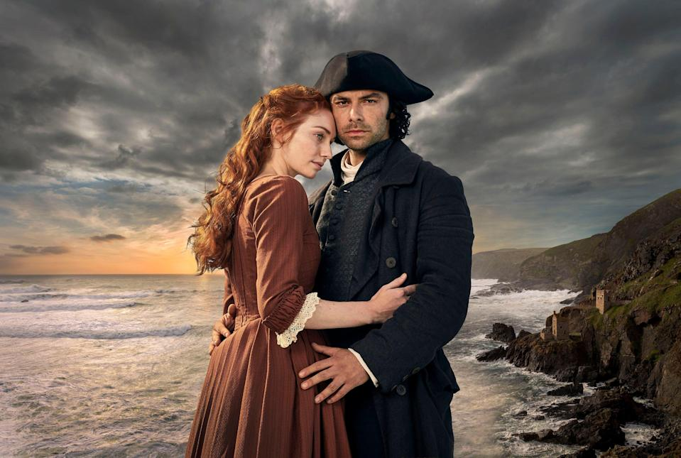 Romance, scything and Cornish scenes - what more could we want?PA