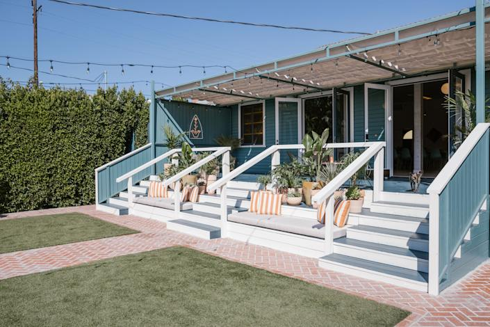 """<div class=""""caption""""> Over the years, the Ruby Street has hosted countless events, performances, dinner parties, and photo shoots, as well as more 200 weddings. They'll no doubt be just as desirable for events with the updated design. </div>"""