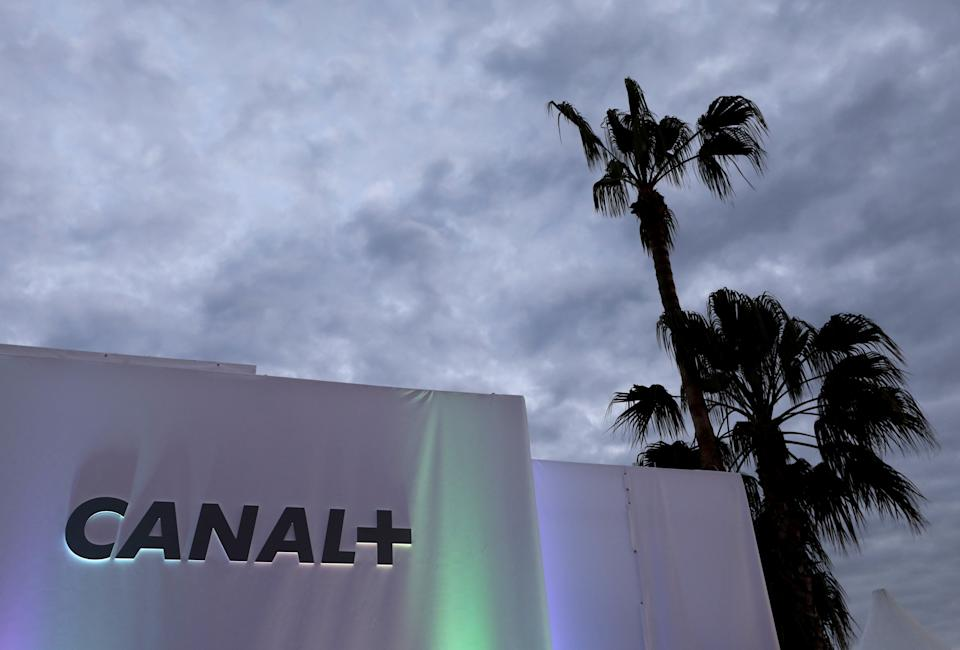 Le logo de Canal+  à Cannes en 2017 (Photo: Eric Gaillard via REUTERS)
