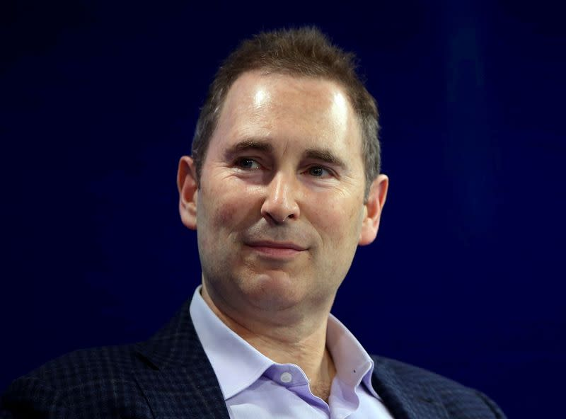FILE PHOTO: Amazon's Andy Jassy speaks at the WSJD Live conference in Laguna Beach
