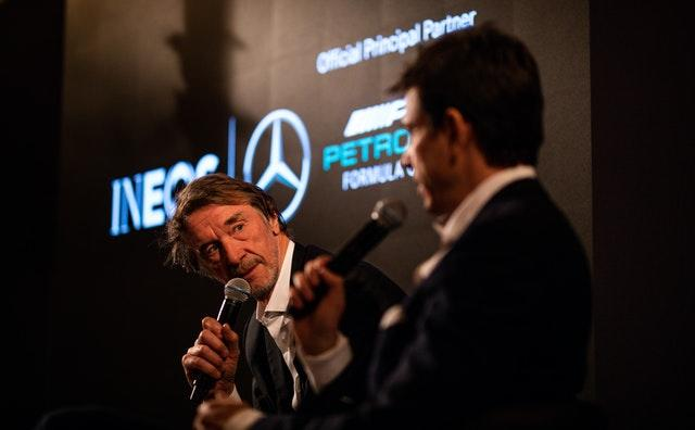 Billionaire Sir Jim Ratcliffe (left) is the founder of chemical giant Ineos (Steve Paston/PA).