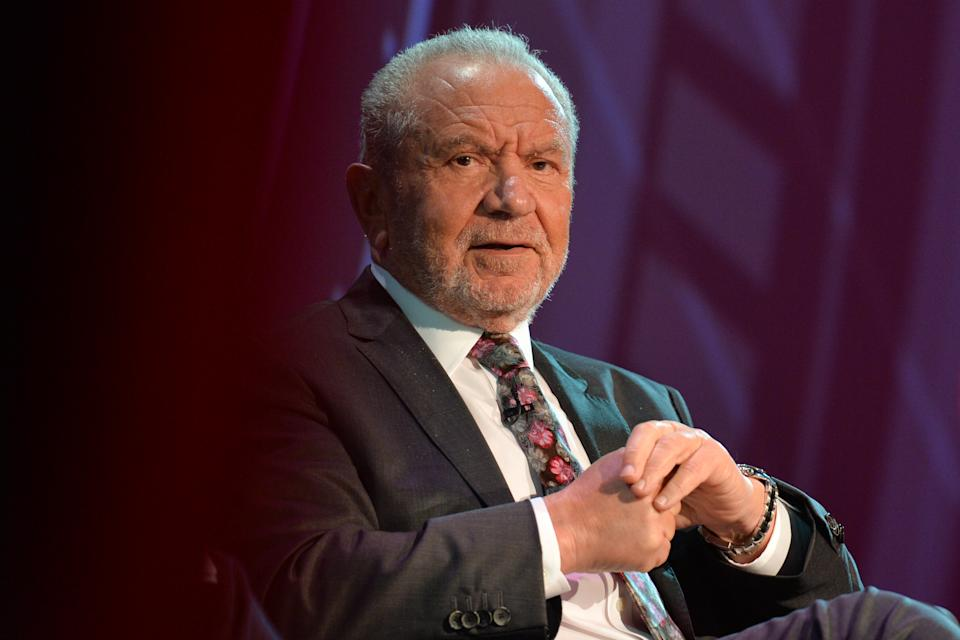 Lord Alan Sugar, who was born in Hackney, eventually contributed a substantial amount to rescue The Hackney Empire (Photo by Artur Widak/NurPhoto via Getty Images)