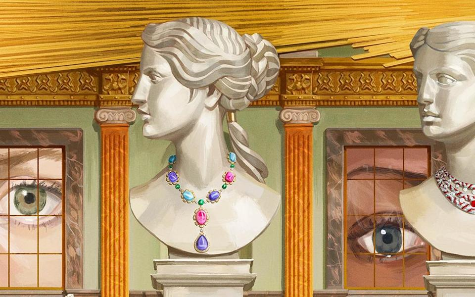 Bulgari's latest high jewellery collection is inspired by baroque art and architecture