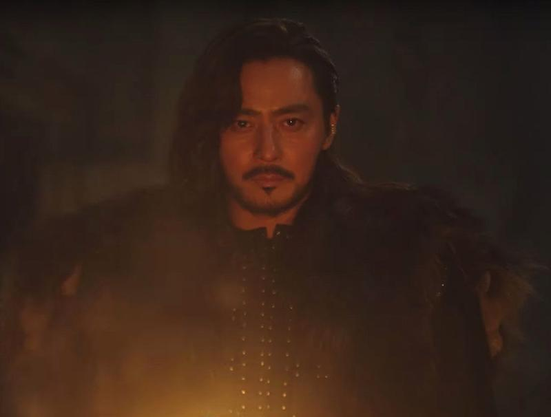 Jang Dong-gun as Tagon in Korean epic fantasy series by tvN and Netflix, Arthdal Chronicles.