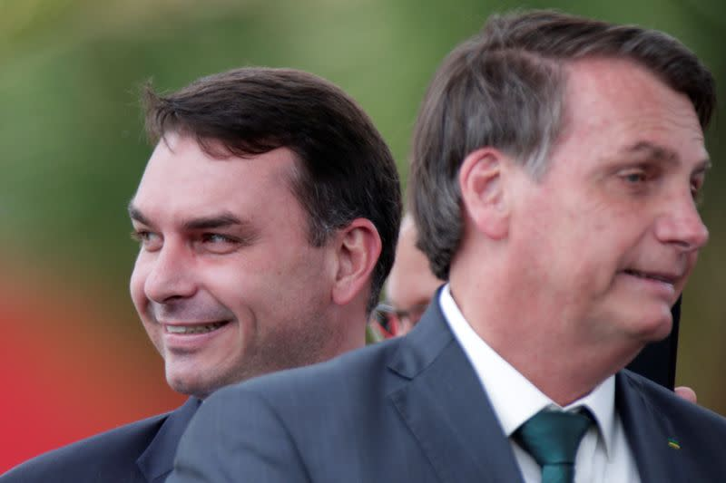 Brazil prosecutors bring graft charges against Bolsonaro's son - report