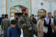 The Taliban are now facing the challenge of morphing from insurgents into rulers (AFP/HOSHANG HASHIMI)
