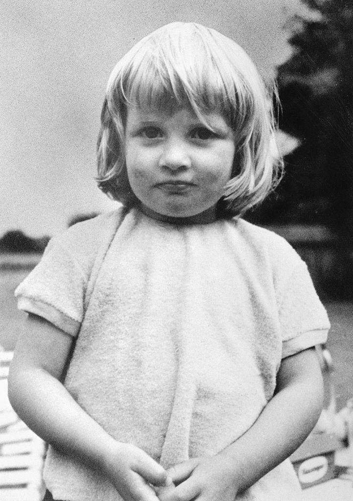 """<p>In this picture from her family album, a cherub-faced Diana, age 3, is at <a href=""""https://www.royal.uk/diana-princess-wales"""" rel=""""nofollow noopener"""" target=""""_blank"""" data-ylk=""""slk:Park House"""" class=""""link rapid-noclick-resp"""">Park House</a>, her birthplace in Sandringham.</p>"""