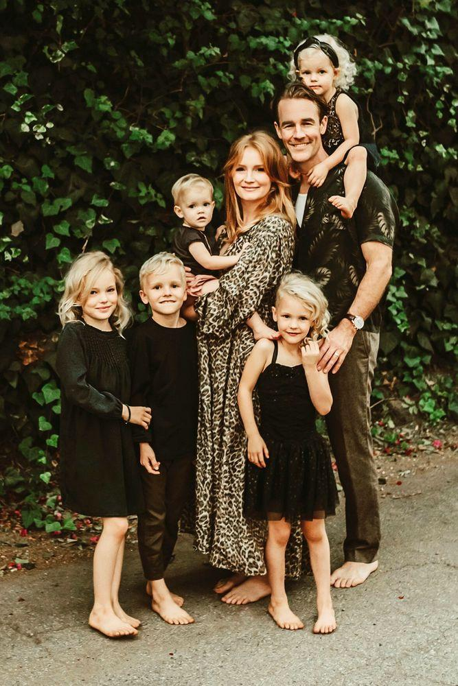 James and Kimberly Van Der Beek with their children | jillian goulding photography