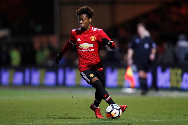 Heave sent: United have high hopes for Angel Gomes