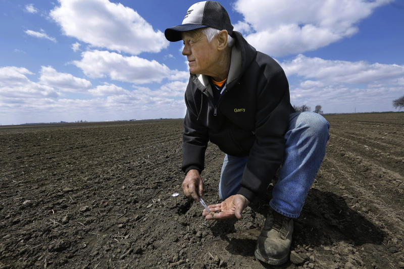 Spring corn planting still sputters in key states