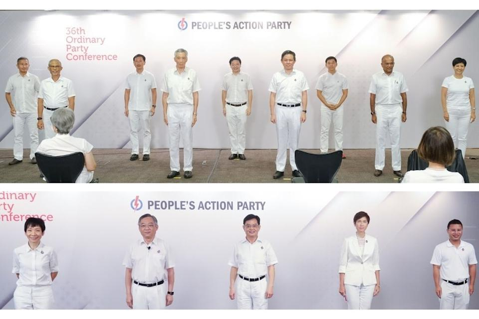 The People's Action Party (PAP) elected its 36th central executive committee at its biennial party conference on Sunday (8 November). (Photo: PAP website)