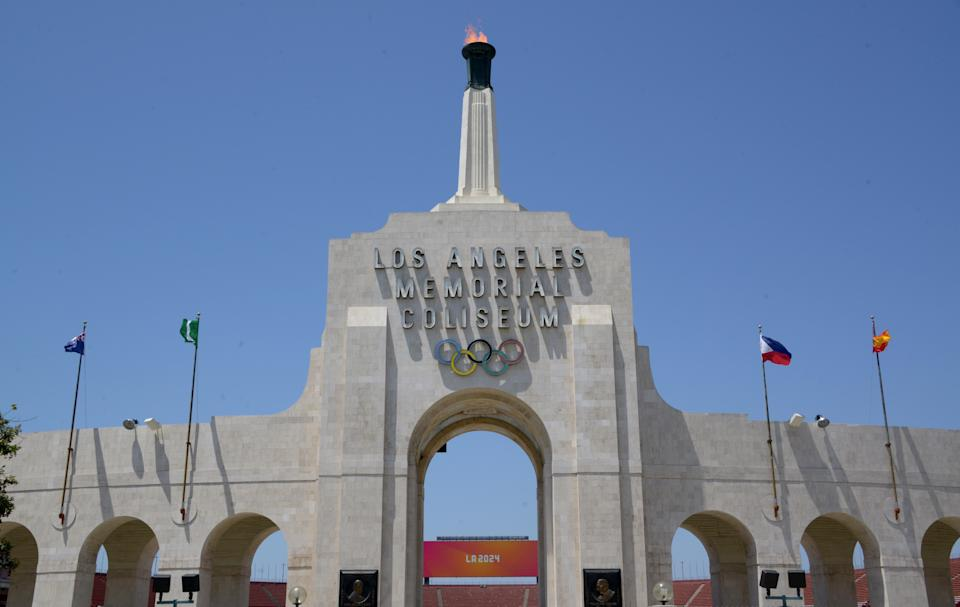 The Los Angeles Memorial Coliseum was used for both the 1932 and 1980 Summer Olympics, and is a proposed site for the 2028 Los Angeles Olympic games.