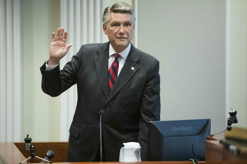 Mark Harris calls for new election during evidentiary hearing for election fraud