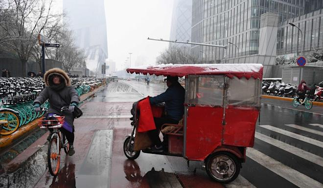 Rapid urbanisation has been at the heart of Chinese life for decades. Photo: AFP