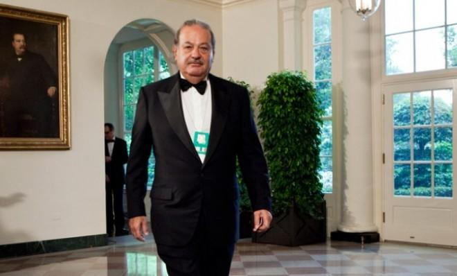 For the fourth year in a row, Mexican billionaire Carlos Slim is the richest person in the world.