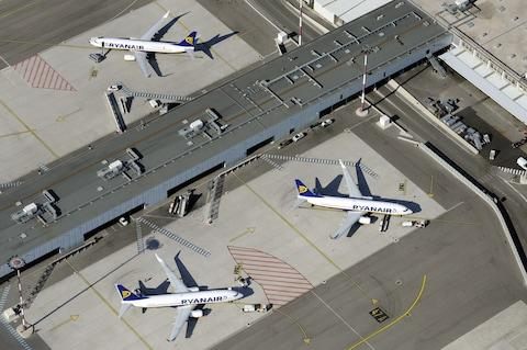 Ryanair can lay claim to being one of the greenest airlines in the sky - Credit: 2010 AFP/ANNE-CHRISTINE POUJOULAT