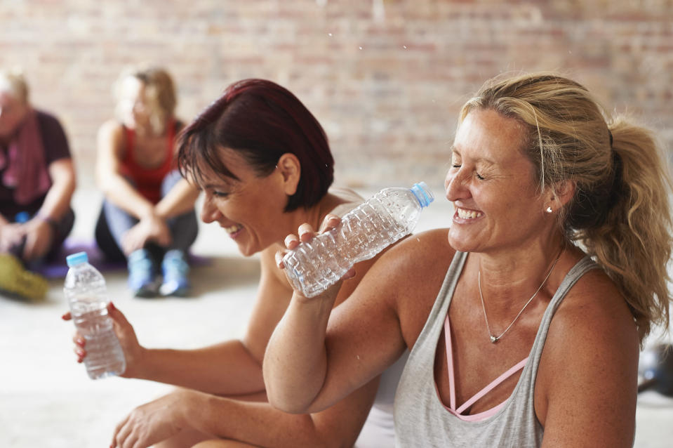 Exercise doesn't just lower the risk of developing colon cancer — the more active you are, the greater the benefits. (Photo: Getty Images)