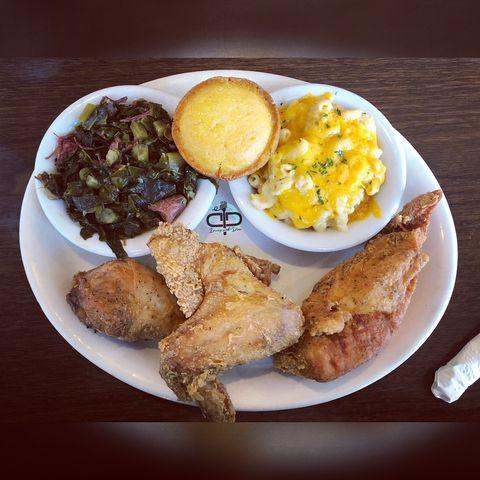 """<p>If you planned to visit Anchorage, Alaska anytime soon, you'll want to make a stop by Roscoe's Catfish & BBQ. Highly recommended on <a href=""""https://www.yelp.com/biz/roscoes-catfish-and-bbq-anchorage"""" rel=""""nofollow noopener"""" target=""""_blank"""" data-ylk=""""slk:Yelp"""" class=""""link rapid-noclick-resp"""">Yelp</a>, the restaurant is said to not disappoint when it comes to homestyle cooking and BBQ, featuring sauce made from scratch. From the lightly sweetened cornbread muffins to the Alaskan seafood gumbo, Roscoe's — which has been around since 1988 — continues to leave its mark. </p><p><a href=""""https://www.instagram.com/p/Bng-uArATPa/?igshid=xbxe27fy7a4a"""" rel=""""nofollow noopener"""" target=""""_blank"""" data-ylk=""""slk:See the original post on Instagram"""" class=""""link rapid-noclick-resp"""">See the original post on Instagram</a></p>"""