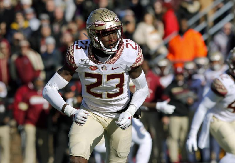 Florida State needs a healthy Hamsah Nasirildeen back on defense in 2020. (AP Photo/Bill Sikes)
