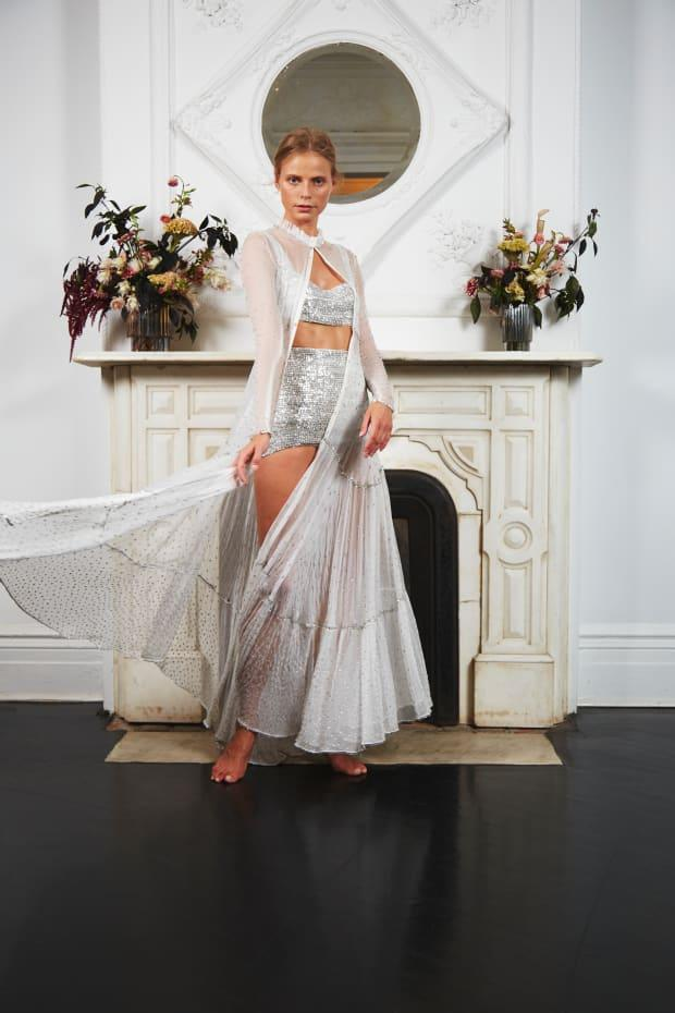 <p>A look from the Sahroo The Happiness Bridal collection. Photo: Courtesy of Sahroo</p>