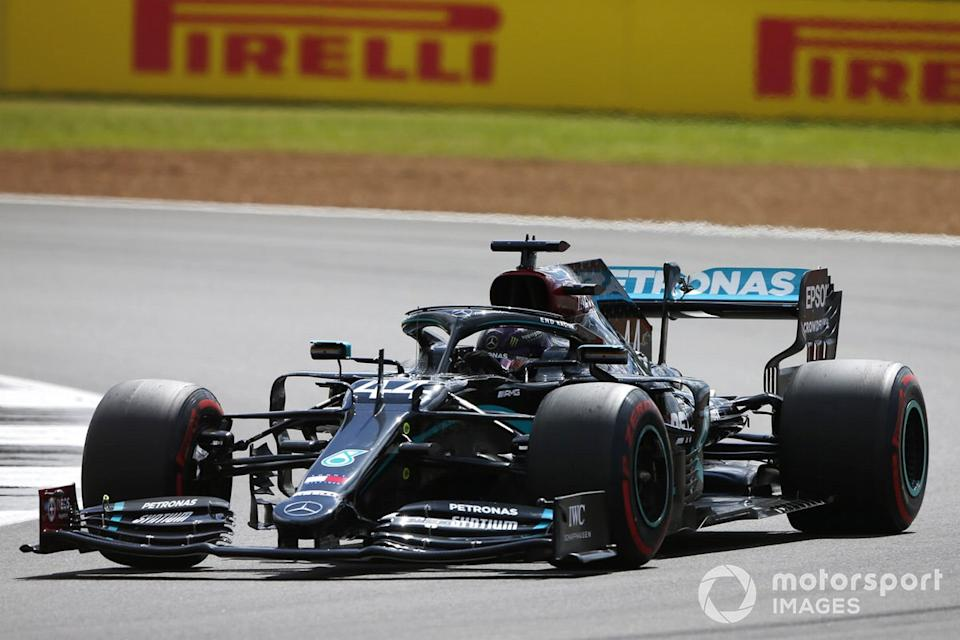 """Lewis Hamilton, Mercedes F1 W11 <span class=""""copyright"""">Andy Hone / Motorsport Images</span>"""