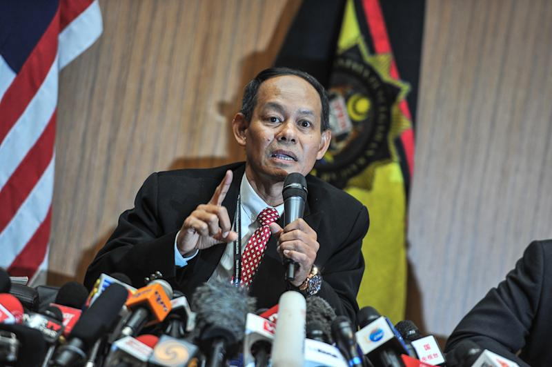 MACC chief commissioner Datuk Seri Mohd Shukri Abdull said it was worrying nobody was willing to give a frank assessment to the question of how bad corruption was in Malaysia. — Picture by Shafwan Zaidon