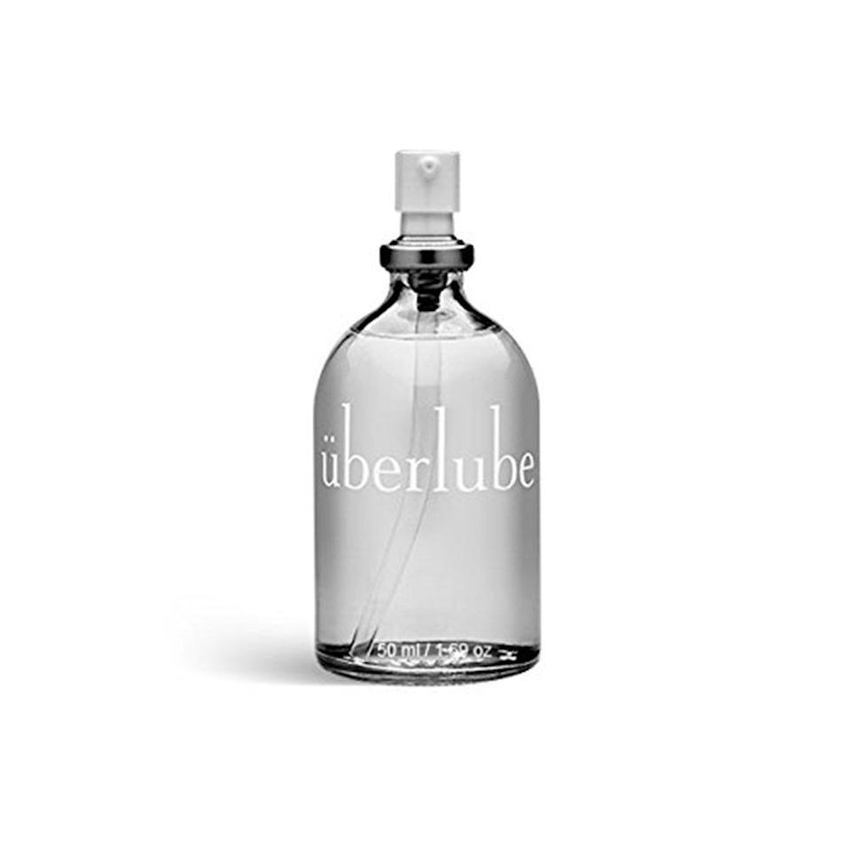 """<p>It's no secret the skin of your vulva is super-sensitive, so choosing the right lube is crucial for your comfort. Made with only four ingredients, Uberlube is the solution for women who tend to react to traditional lubricants or are prone to yeast infections. ($18; <a rel=""""nofollow noopener"""" href=""""https://www.amazon.com/Uberlube-E27610-Luxury-Lubricant-50ml/dp/B00KDHS8PO/ref=as_li_ss_tl?ie=UTF8&linkCode=ll1&tag=mshpsynhtproductsyourvaginaneedsslsept18-20&linkId=8bb088ef5ef00ba1e7759be148e69a0c&language=en_US"""" target=""""_blank"""" data-ylk=""""slk:amazon.com"""" class=""""link rapid-noclick-resp"""">amazon.com</a>)</p>"""