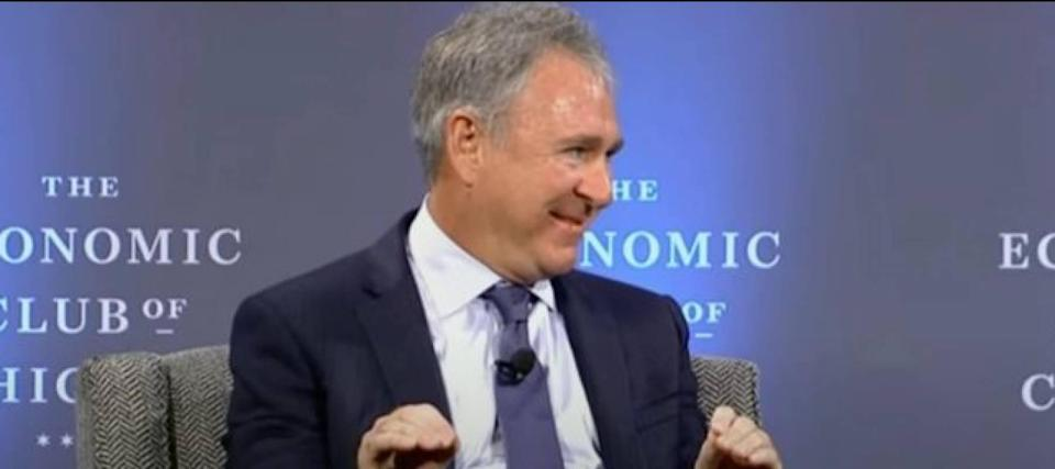 Cover your ears, YOLO crowd: Citadel's Ken Griffin just had a big September