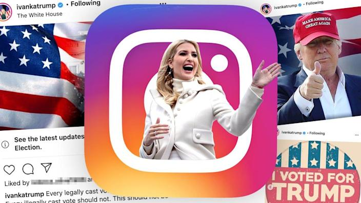 Photo Illustration by Sarah Rogers/The Daily Beast / Photos Getty / Instagram