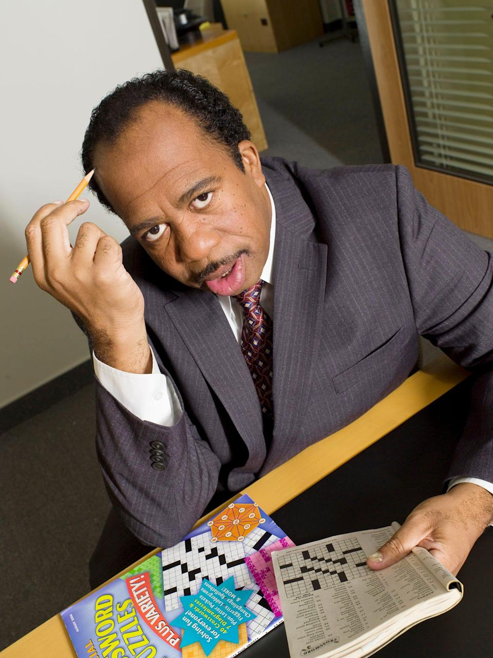 Leslie David Baker, known best for his role as the grouchy Stanley Hudson on the hit NBC comedy