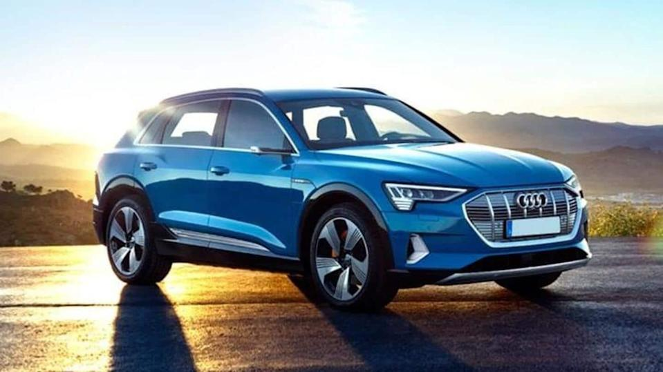 Ahead of debut, Audi e-tron listed on official Indian website