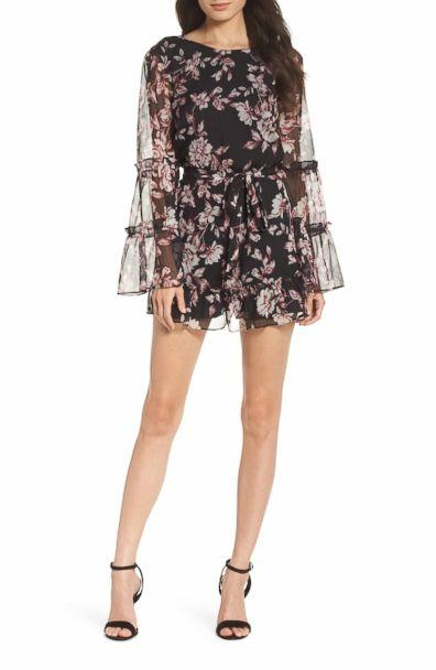 PHOTO: Ali & Jay Stop and Smell the Roses Romper (Nordstrom)