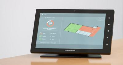 Crestron 3-Series Control System and Delos DARWIN Home Wellness Intelligence Network Integration